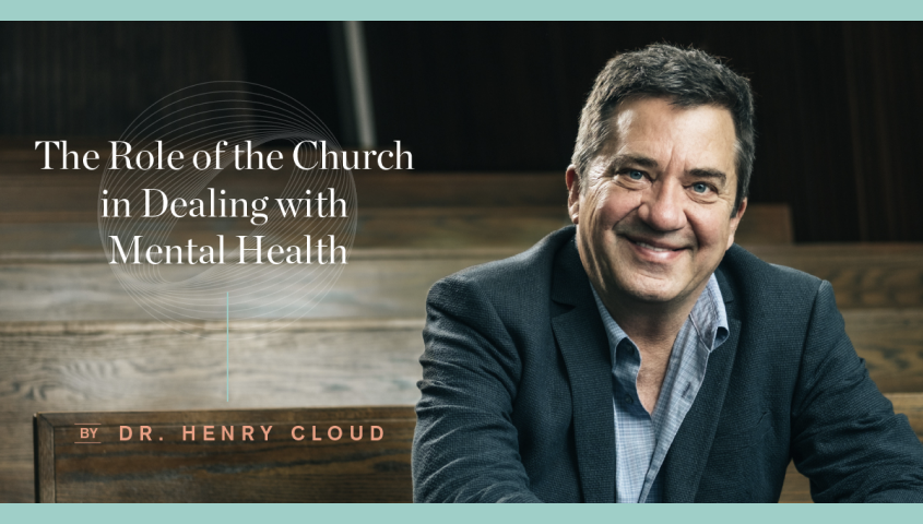 Mental Health Role of the Church - Dr. Henry Cloud Video Image 1