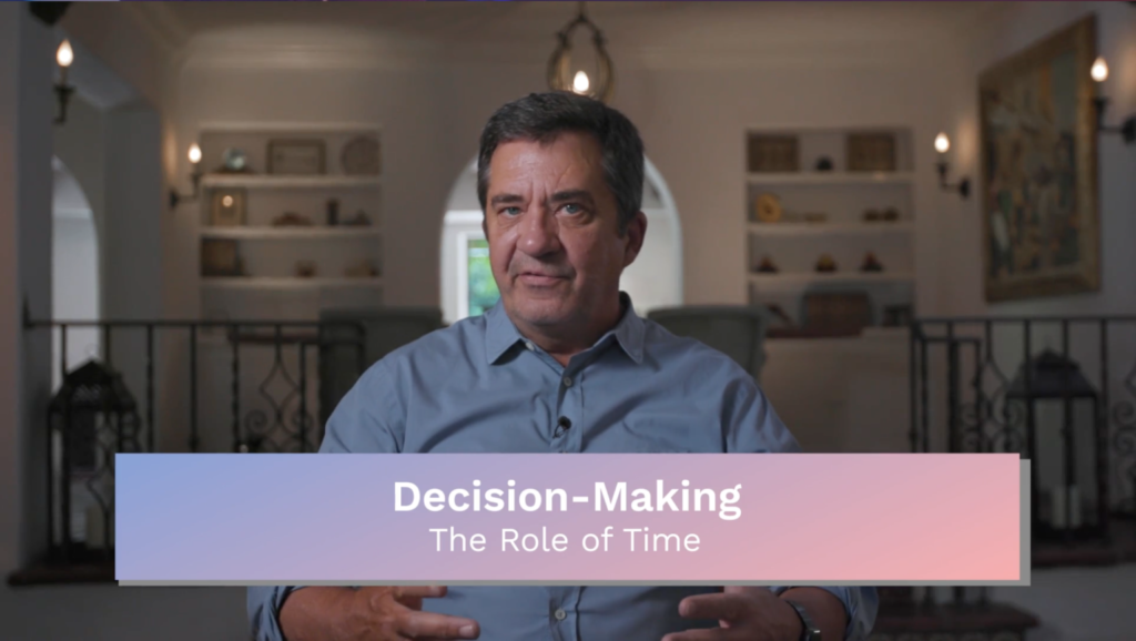 Decision Making: The Role of Time